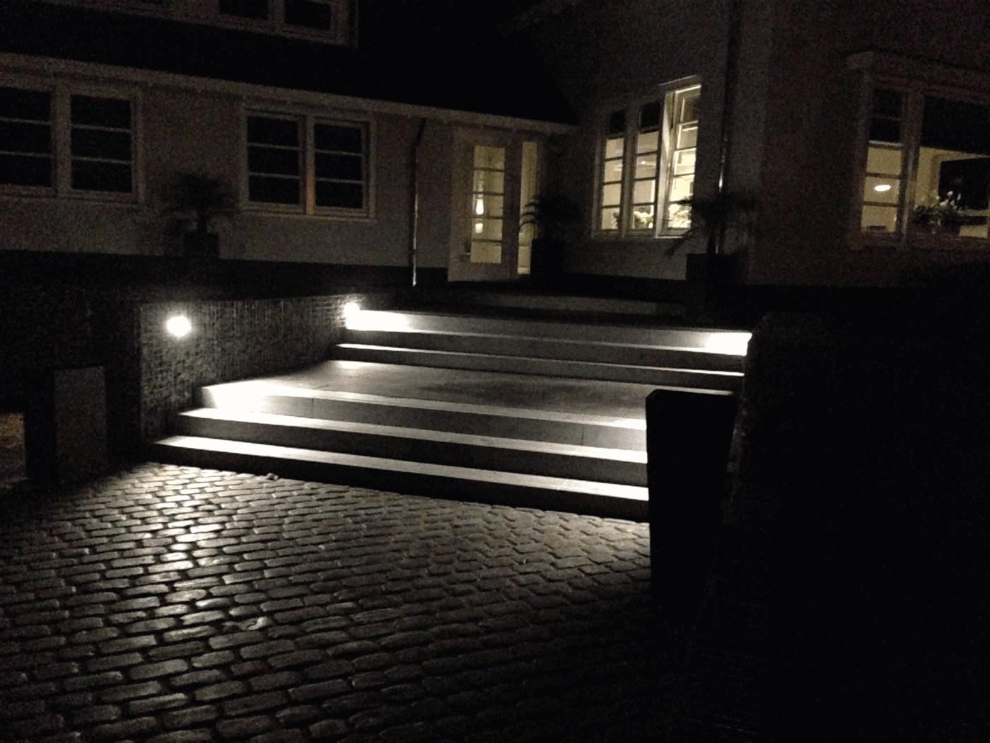 steenkorf met verlichting - Projecten - Nacon